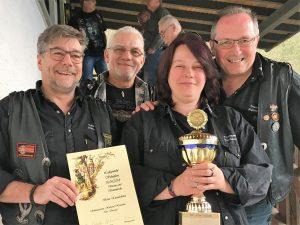 Wanderpokal 1. Mannschaft Taunuswölfe Haintchen